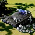 ランバ・ラル隊と74式戦車