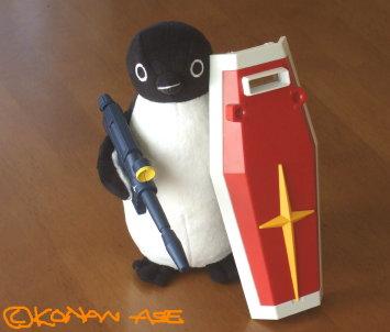 スイカのペンギン