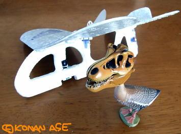 ティラノサウルスの頭骨 2