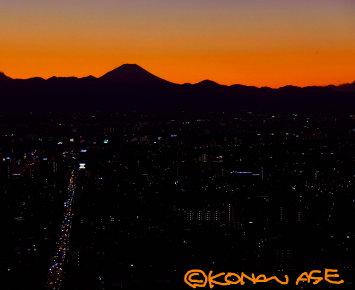 Fuji_twilight