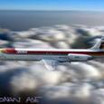 イベリア航空のMD-87