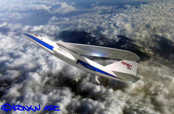 オブリーク・ウイング実験機AD-1