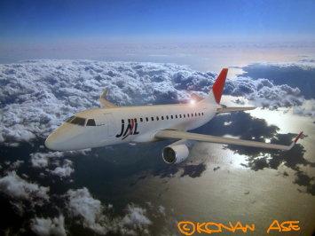 JALのエンブラエルE170