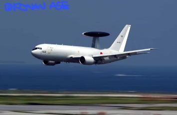 ローパスするE-767