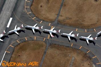 J-AIRのCRJ200