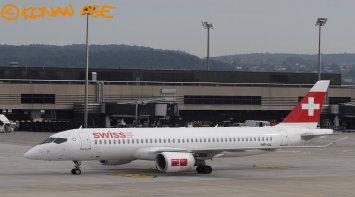 スイス国際航空のMRJもどき